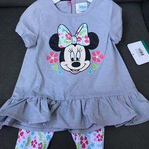 NWT! Disney Baby Minnie Mouse Set!